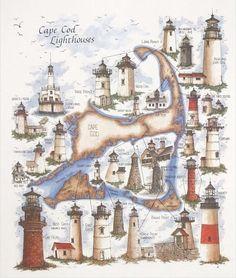 Cape Cod Lighthouses, MA                                                                                                                                                      More