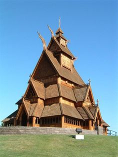 The church of Norway is the stave churches. Description from svdp-cinderella.wikispaces.com. I searched for this on bing.com/images