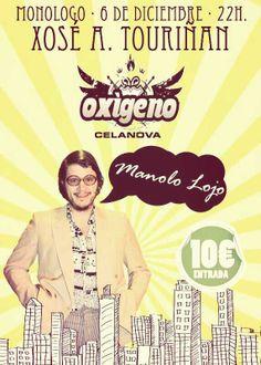 Monólogo de Touriñán @ Pub Oxígeno - Celanova (Ourense) escea escena comedia