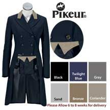 Pikeur® Custom Washable Wool Shadbelly with Specialty Trim- Elegant ladies shadbelly with the perfect fit you expect from Pikeur. No. 6149SP - $949.95