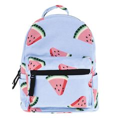OMG Watermelon Pale B... Shop Now! http://www.shopelettra.com/products/watermelon-pale-blue-mini-backpack?utm_campaign=social_autopilot&utm_source=pin&utm_medium=pin