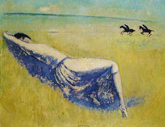 Boon Gallery (Stand MN10) / Femme allongée à Deauville - Kees Van Dongen - 1924