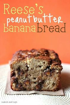 Reeces peanut butter bread