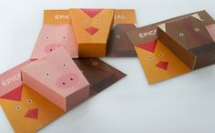 These Spice Containers Suggest the Best Animal Meat Pairings #paper #packaging trendhunter.com