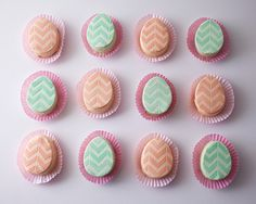 Mini Easter Egg Cakes | by Cakegirls for TheCakeBlog.com