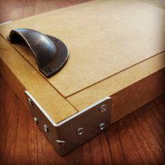 Image of Handmade Lino Printing Box Press