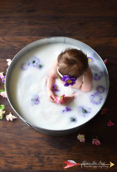 Baby Milk Baths