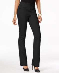 Inc International Concepts Pull-On Slim Flared Pants, Only at Macy's
