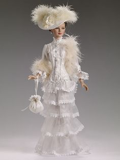 """TONNER- 22"""" AMERICAN MODEL-2014 NEW-""""VICTORIAN ROMANCE""""-IN STOCK-DRESSED DOLL  #TONNER"""