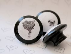 Baby Love Door Pulls 6 pc Set by kmadson on Etsy, $30.00