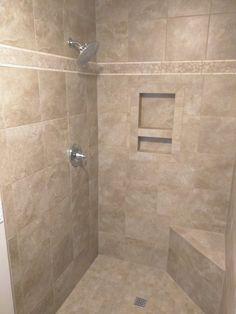 Bathroom Layout, Bathroom Designs, Bathroom Ideas, Bath Ideas, Shower Ideas, Southern Homes, Master Bathrooms, Walk In Shower, Kitchen And Bath