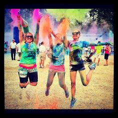 Jumping with color never gets old #colormeradrva. Credit: instagram @jackelz