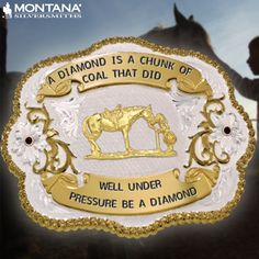 A diamond is a chunk of coal that did well under pressure; be a diamond.  #motivationalmonday Create your own here; http://ss1.us/a/7FJHrokC