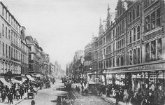 Argyle Street Glasgow from -1902 - It says Argyle St. on my parents' wedding photo. (sandpipersong)