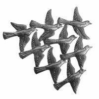 Haitian Metal Art Small Flight Birds