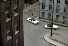 Fred Herzog's Kodachrome slides