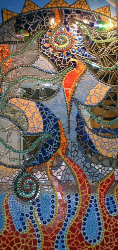 tile mosaic murals - Pined By    http://www.mosaicmosaic.com/