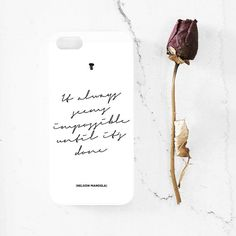 Nelson Mandela quote iPhone 5  5s case iphone 44s by MessProject, €13.00 #design #typography #quote #case #iphonecase #blackandwhite #inspirational #motivational #motto #mandela 5s Cases, Iphone Cases, Nelson Mandela Quotes, Typography, Unique Jewelry, Handmade Gifts, How To Make, Etsy, Design