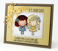 Mimi and Friend by stampit74, via Flickr, www.pennyblackinc...