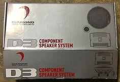 D3 DAIMONDS 2 Diamond Music, Component Speakers, Speaker System