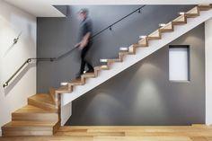 White oak flooring in Toronto renovation