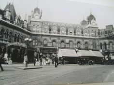 Highbury and Islington Station before being bombed during WWII. On the north-west side of Highbury Corner
