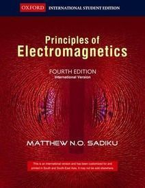 Principles Of Electromagnetics Sadiku 4th Edition PDF Free