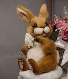 Bloom - зайчик, зайка, кролик, Пасхальный кролик, заяц тедди, тедди, макарова виктория