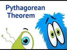 Pythagorean Theorem - educational math cartoon for kids Teaching Geometry, Teaching Math, Math Teacher, Math Classroom, Fractions, Math Cartoons, Maths Algebra, Algebra Help, Math Puns