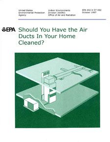 Should You Have the Air Ducts in Your Home Cleaned? I do at least every other year.  It really helps air quality.
