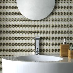 It's a fun way to add style to your home - Cementine EvoDeco tile from Arizona Tile https://www.arizonatile.com/en/products/porcelain-and-ceramic/cementine-evo #tile #remodeling #newhomes