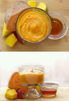 MANY OF YOU HAVE BEEN ASKING FOR NATURAL ACNE REMEDY!! Here it is!!!!  Anti-Acne / Anti-Aging face mask  What you need: Baked Sweet potato (make sure it's soft, but not hot! you don't want to burn yourself) A mango 4-5 tablespoons of honey   Scoop out the insides of the sweet potato and mango and put them in a blender with the honey, blend it up and put on your face for 15 minutes then rinse off with warm water. It combats free radicals (the nasty things that cause wrinkles), it has loads of…