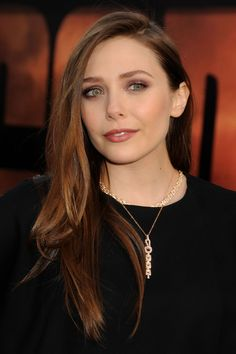 Elizabeth Olsen at Godzilla Premiere in Los Angeles, May 2014.