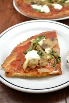 Vegetarian Lavash Pizza - this is crazy good!