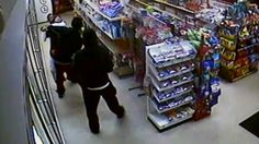 Police are searching for six men wanted in connection to several unarmed robberies at a gas station on Detroit's west side.