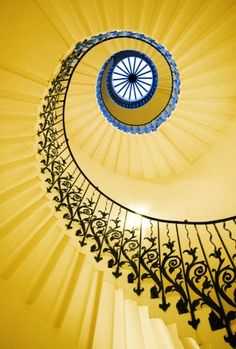 follow the yellow stair case