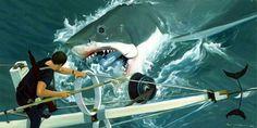 JAWS by Paul McPhee