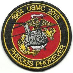 USMC Phrogs Phorever 1964-2015 Patch