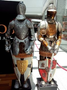 Armors from a little expo, in Brazil.