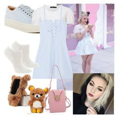 """Melanie Martinez"" by veggiegirl101 ❤ liked on Polyvore featuring Lime Crime, Marc Fisher LTD, Solid & Striped, Fox River and melanie_crybaby"