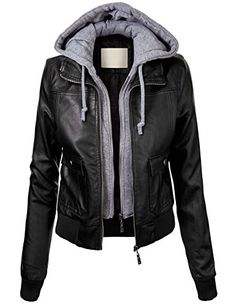 Lock and Love Women's Vegan Leather Bomber Jacket with Hoodie XL BLACK Lock and Love http://www.amazon.com/dp/B00NH16DNM/ref=cm_sw_r_pi_dp_fWPgub0HKRZBD