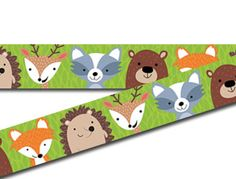 Woodland Friends Border Classroom Borders, Classroom Displays, School Classroom, Woodland, Kids Rugs, Friends, Art, Amigos, Art Background