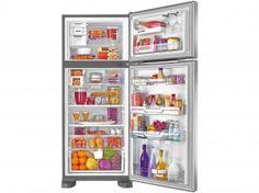 Geladeira/Refrigerador Brastemp Frost Free Duplex - 403L Inox Ative Smart Bar BRM48NR