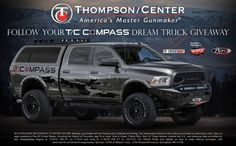 TruckVault partnered up with Thompson/Center on the awesome truck build. www.truckvault.com