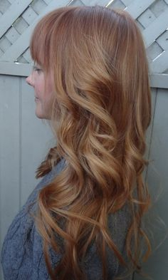 beige strawberry blonde hair color
