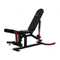 Bodymax CF510 Elite Utility Flat-Incline-Decline Bench with Leg Curl and Preacher - Weight Benches - Strength at Powerhouse Fitness