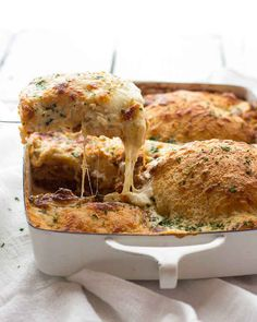 Extra Cheesy Classic Homemade Lasagna
