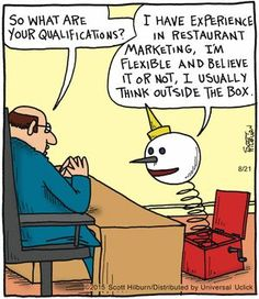 You can't say he doesn't know Jack in this The Argyle Sweater Comic Strip  trynewfoods.blogspot.com   August 21, 2015     on GoComics.com