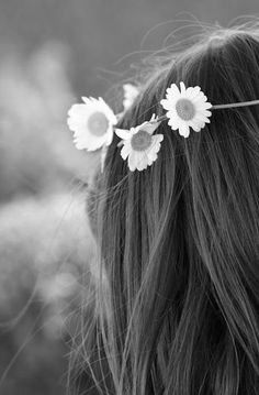 • Blooming in B | W • ❀ •