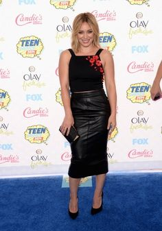 Hillary Duff    Must-See Pics From the 2014 Teen Choice Awards   Twist